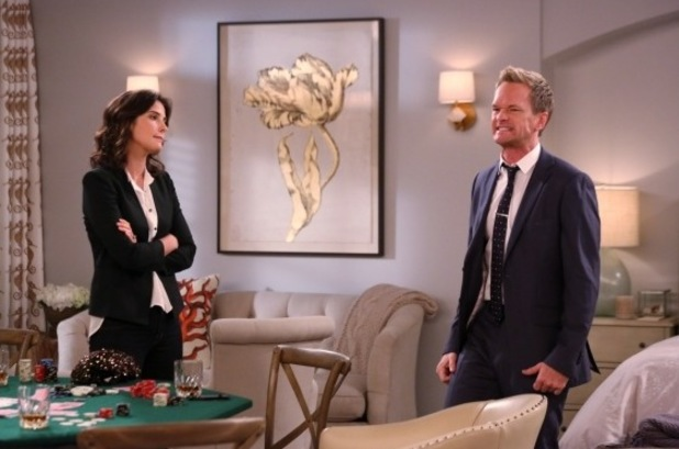 "Robin & Barney in ""The Poker Game"" Episode 5 of Season 9"