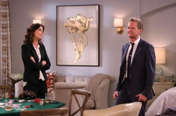 "Robin & Barney in ""The Poker Game"" Episode 5 of Season 9"