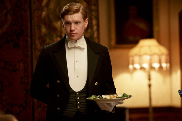 Matt Milne as Alfred in 'Downton Abbey' S04x05