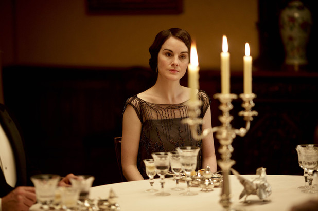 Michelle Dockery as Lady Mary in 'Downton Abbey' S04x05