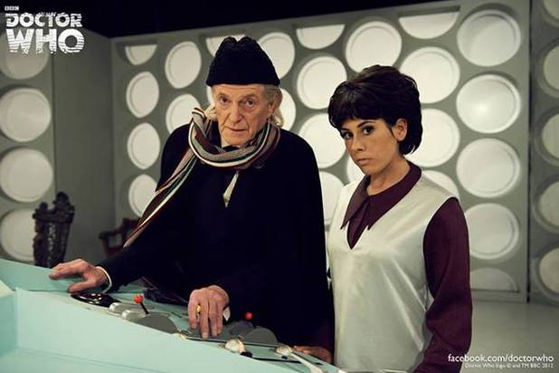 David Bradley, Claudia Grant in An Adventure in Space and Time Doctor Who biopic