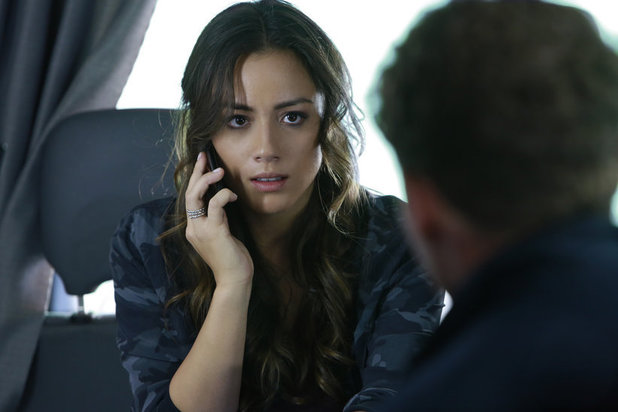 Chloe Bennet as Skye in 'Agents of SHIELD' S01E04: 'Eye Spy'