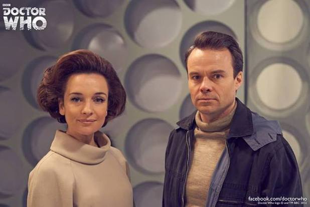 Jemma Powell and Jamie Glover in 'An Adventure in Space and Time' Doctor Who biopic