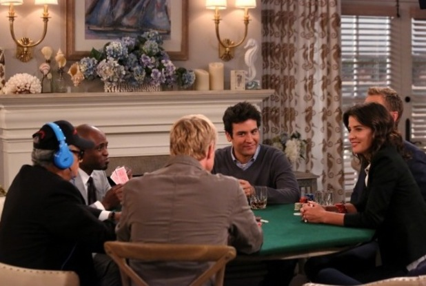 "Know when to hold em' in ""The Poker Game"" Episode 5 of Season 9 How I Met Your Mother"
