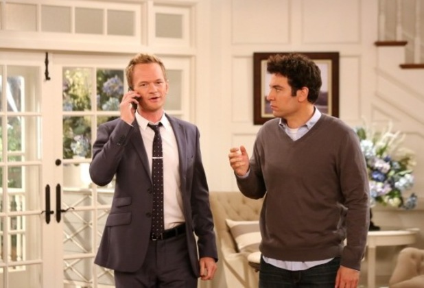 "Barney & Ted in ""The Poker Game"" Episode 5 of Season 9"