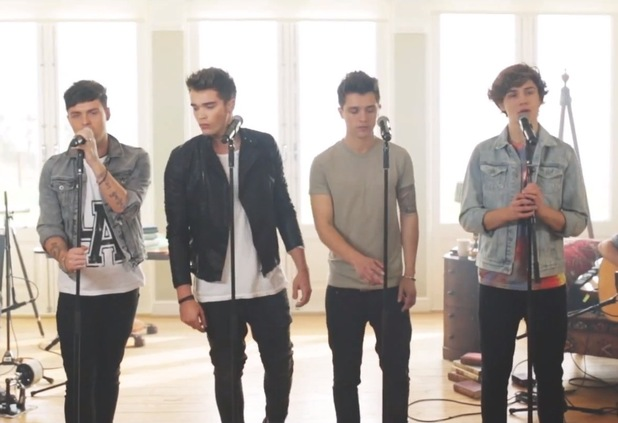 Union J perform 'Beethoven'.