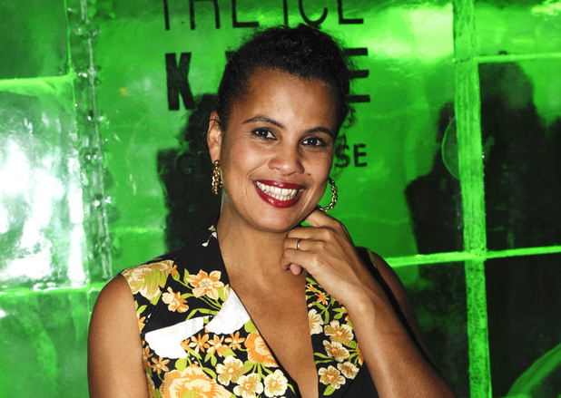 Neneh Cherry DJ'ing at the The Ice Kube in Paris, France