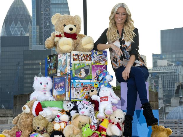 Denise Van Outen has today (15 Oct) helped launch an Argos Toy Exchange campaign to aid children's charity Barnardo's. The campaign hopes to raise £1m in pre-loved toy donations.