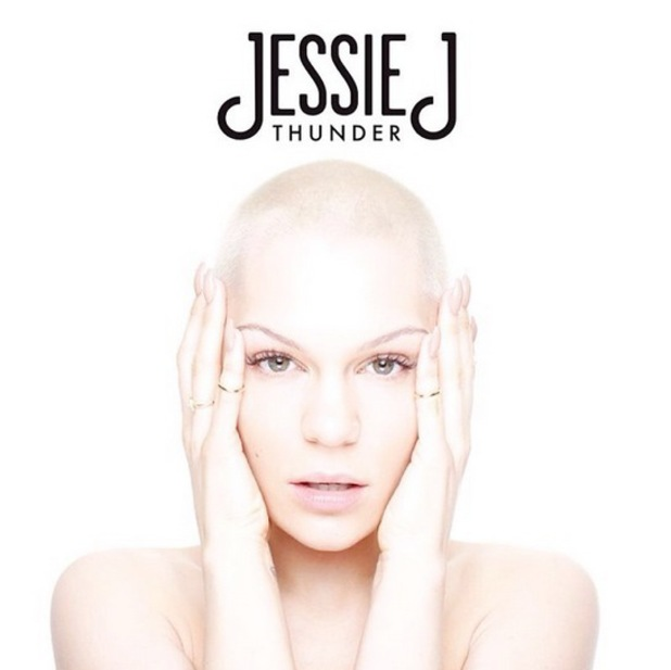 Jessie J 'Thunder' single artwork.