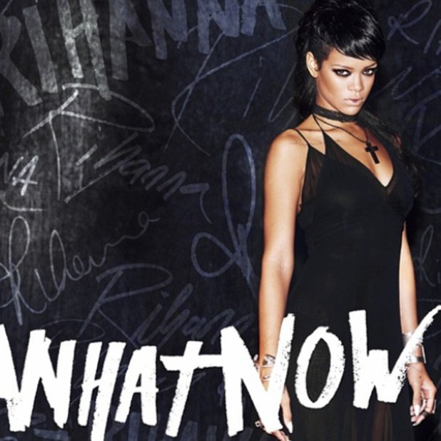 Rihanna 'What Now' single artwork.