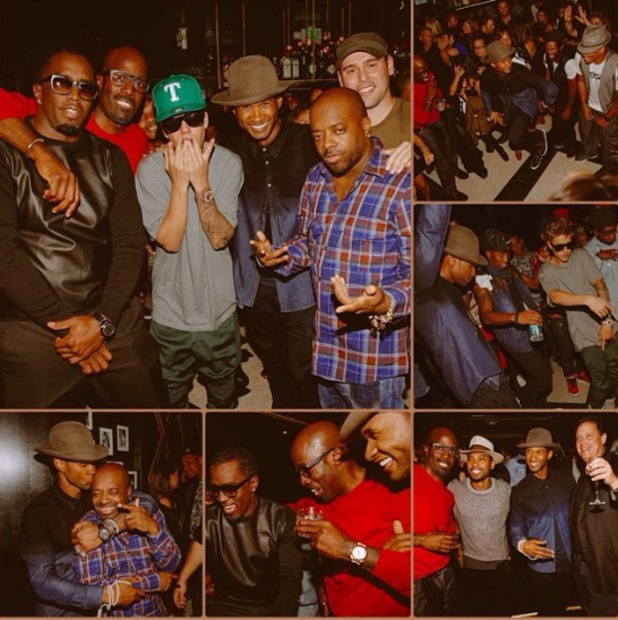 Usher's birthday party in LA