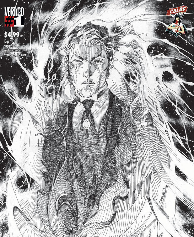 The Sandman: Overture #1 CBLDF variant cover