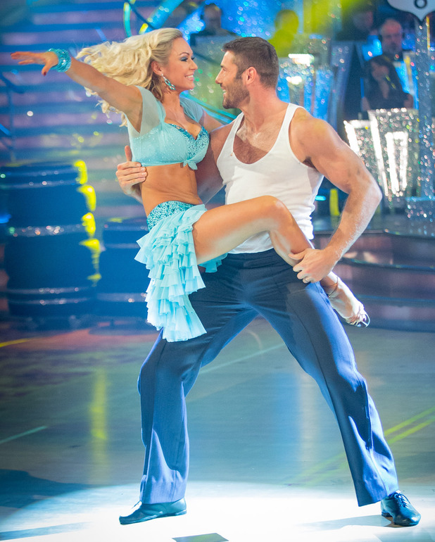 Ben and Kristina dance the Salsa