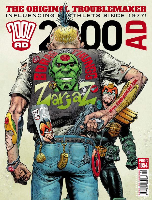 2000 AD Prog 1854 cover