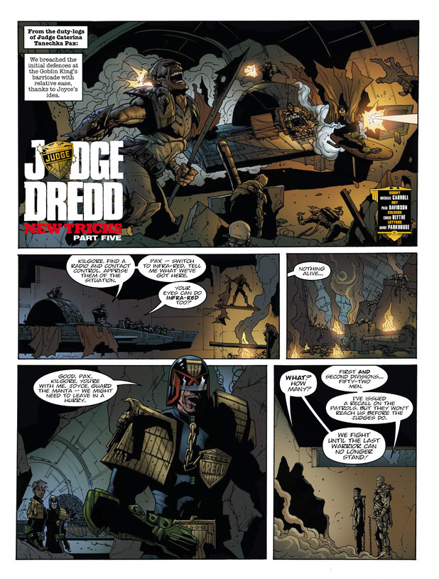 2000 AD Prog 1854 Judge Dredd: New Tricks Part 5