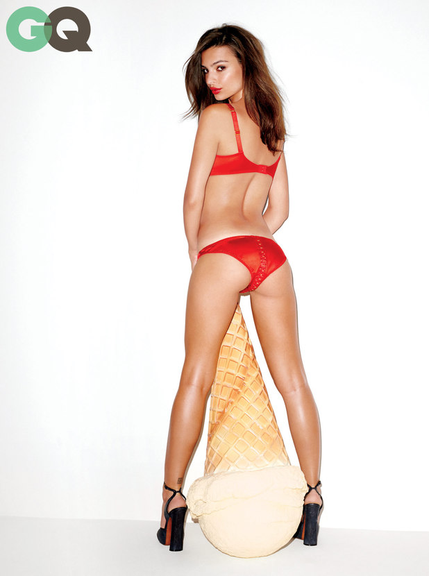 Emily Ratajkowski in the November Issue of GQ magazine