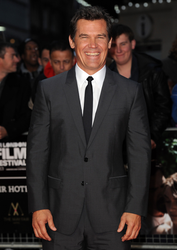 Josh Brolin at the official screening of 'Labor Day' during the The BFI London Film Festival at Odeon Leicester Square, London