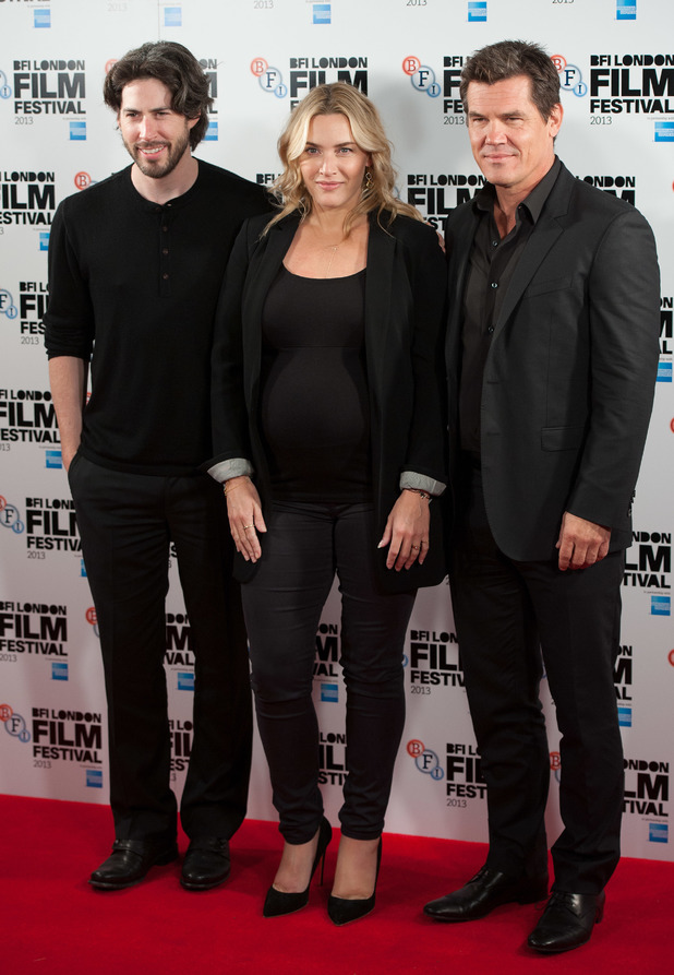 Jason Reitman, Kate Winslet, Josh Brolin, BFI London Film Festival: 'Labour Day' photocall held at the May Fair Hotel. Labor Day