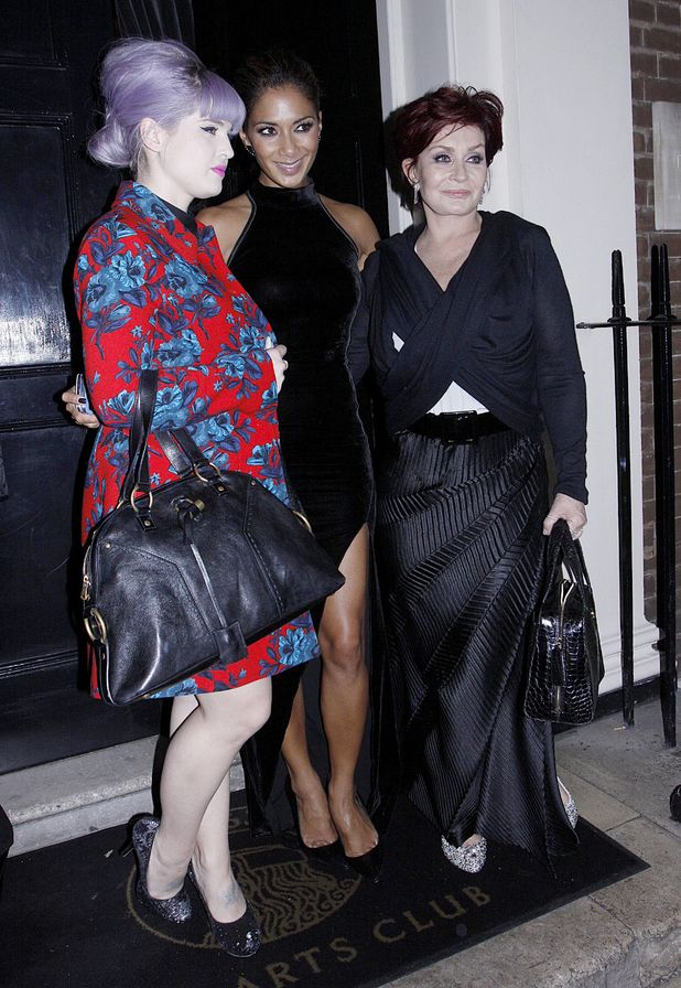 Kelly Osbourne, Nicole Scherzinger and Sharon Osbourne
