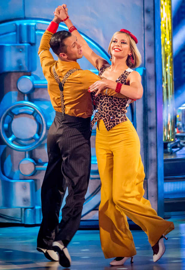 Rachel and Pasha dance the Quickstep
