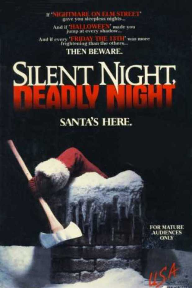 Silent night deadly night 17 controversial movie posters digital