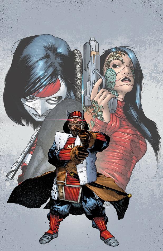 Katana #10 comic