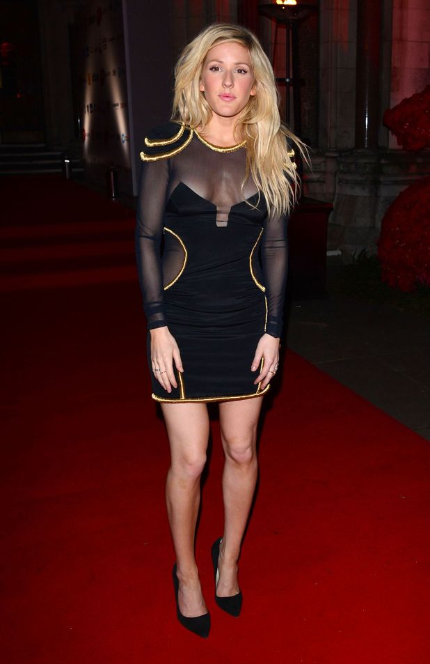 Abbey Clancy, Ellie Goulding: Attitude 2013 Awards