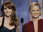 "Amy Poehler jokes that she and Tina Fey were ""fools"" for agreeing to host gala."