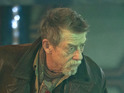 Steven Moffat hints at John Hurt's role in 'The Day of the Doctor'.