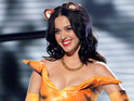 Katy Perry also says she is in no position to comment on stars like Miley Cyrus.