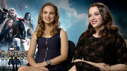 Natalie Portman, Kat Dennings 'Thor: The Dark World' interview: 'Thor's been a jerk to Jane'