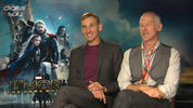 Christopher Eccleston and director Alan Taylor discuss deleted elf sex scenes, 'Games of Thrones' similarities and Joss Whedon's re-writes on 'Thor: The Dark World'.