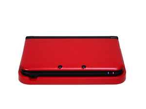 3DS XL charging cradle in red