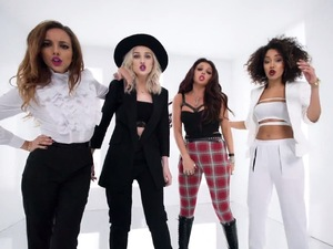 Little Mix 'Move' music video still.