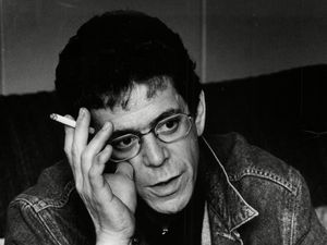Lou Reed photographed in 1989