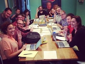 'Checking It Out with Dr Steve Brule' writers room