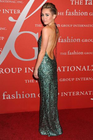 30th Annual Night of Stars, New York, America - 22 Oct 2013 Miley Cyrus 22 Oct 2013