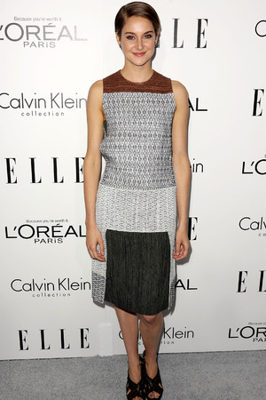 Shailene Woodley Elle Magazine 20th Annual Women in Hollywood, Los Angeles, America - 21 Oct 2013