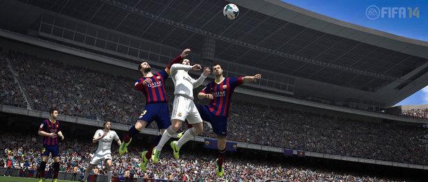 FIFA 14 next-generation screenshot