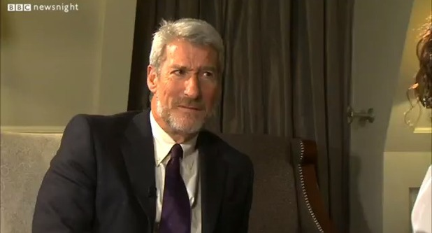 Newsnight's Jeremy Paxman talks to Russell Brand about voting