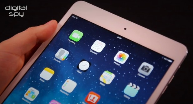 iPad mini hands-on video