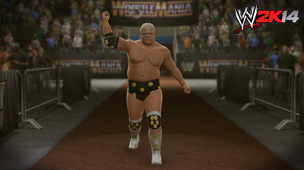 Dusty Rhodes in WWE 2K14 DLC screenshot