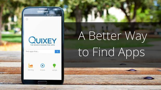 'Quixey: App Search and Discovery' mobile app