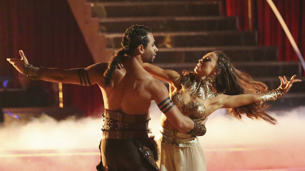 Corbin Bleu & Karina Smirnoff on 'Dancing With The Stars' week 6