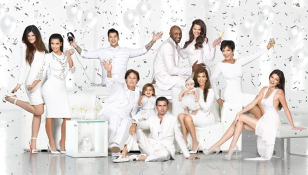 The Kardashian-Jenner's 2012 Christmas card