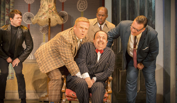 One Man Two Guvnors Tour Cast