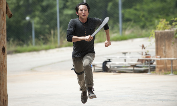 Steven Yeun as Glenn in The Walking Dead S04E02: 'Infected'