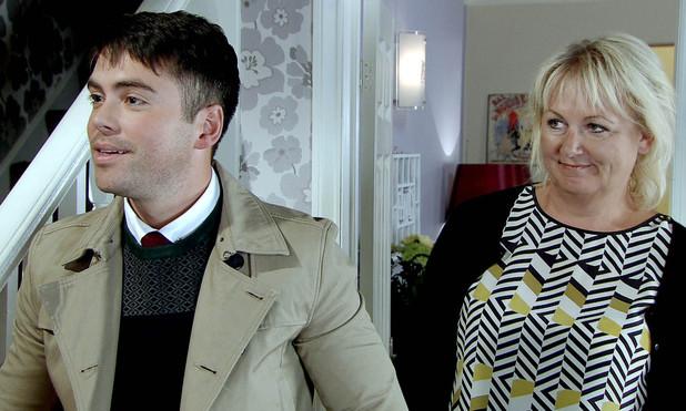 Todd introduces Eileen to his boyfriend Alex.
