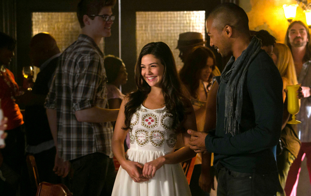 Danielle Campbell as Davina and Charles Michael Davis as Marcel in The Originals S01E04: 'Girl in New Orleans'