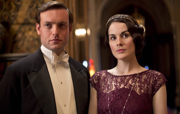 Evelyn Napier as Brendan Patricks and Michelle Dockery as Lady Mary in 'Downton Abbey' Season 4 Episode 6